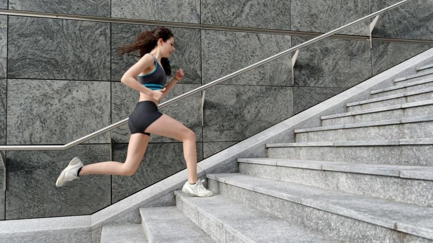 Courir dans les escaliers pour être en bonne santé !