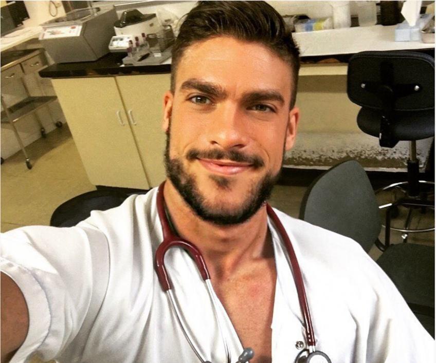 #HOTDUDE : Fran Suarez, l'infirmier le plus sexy de la planète