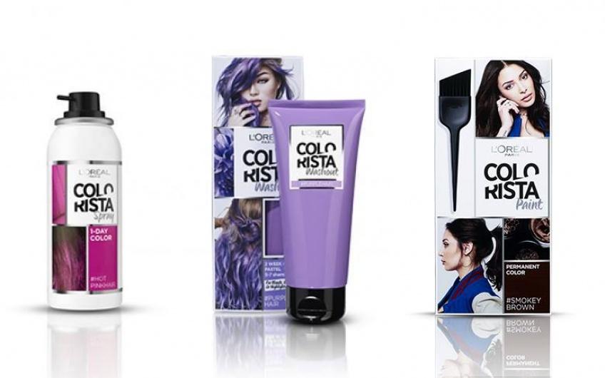 Osez changer de style avec la gamme Colorista !