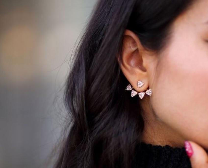 On pare ses lobes de magnifiques dessous d'oreilles pour un style renversant !
