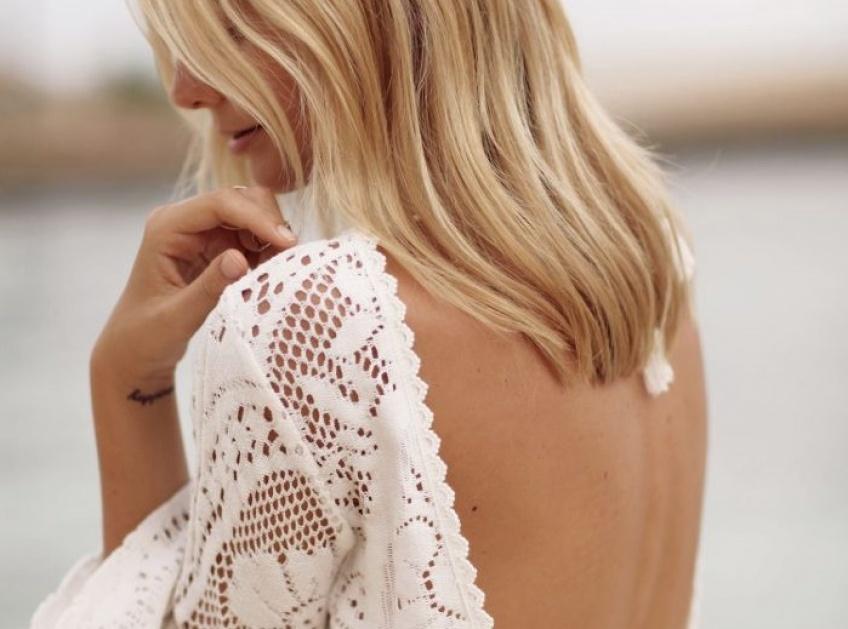 25 robes à dos en dentelle pour sublimer l'échine toute la saison