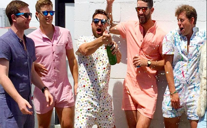RompHim :  La combishort 100 % masculine débarque pour l'été !