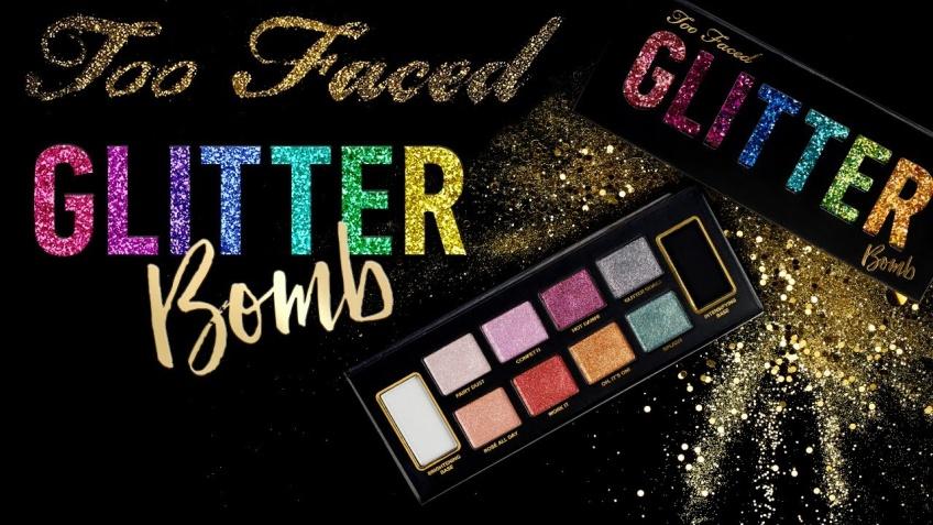 Glitter Bomb : Too Faced lance sa toute première palette pailletée