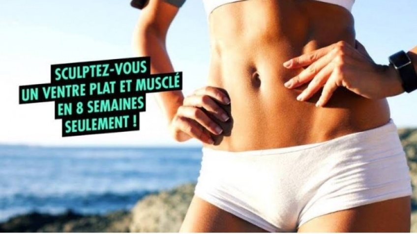 #ALERTE : La solution pour un ventre plat et musclé en 8 semaines !