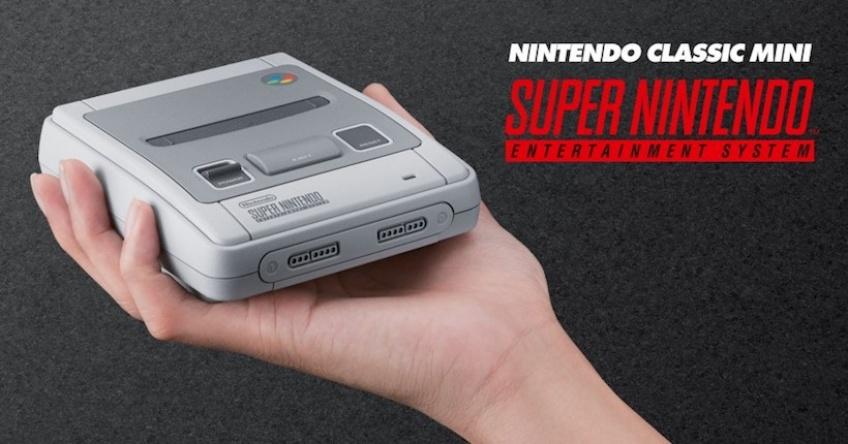 Alerte! Nintendo annonce la sortie d'une Super Nintendoen septembre !