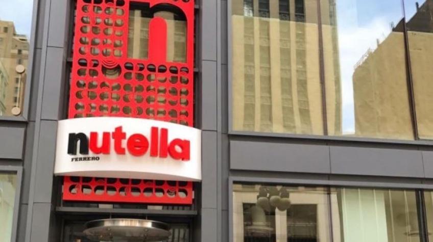 News : le café Nutella a ouvert ses portes !