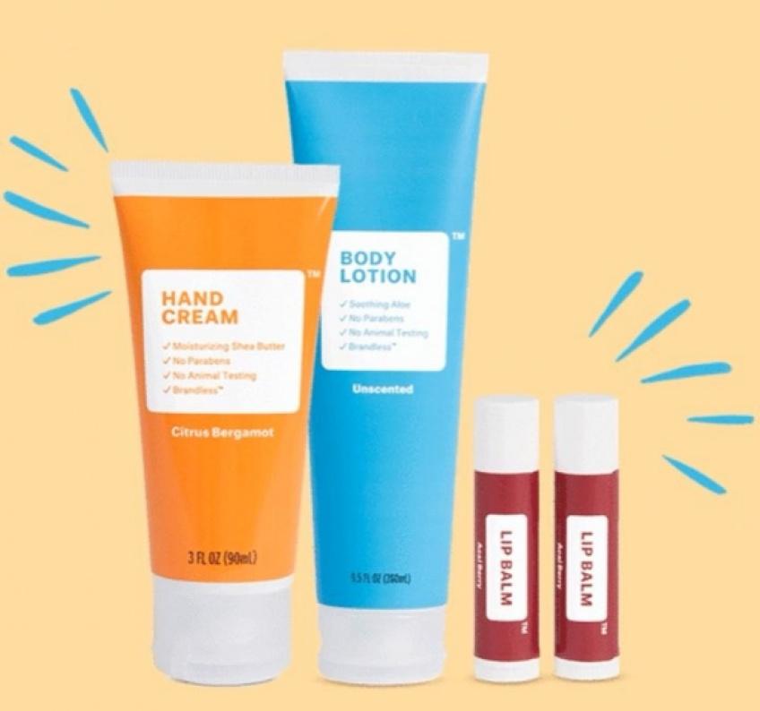 ALERTE : Brandless, la marque de cosmétiques à petit prix unique