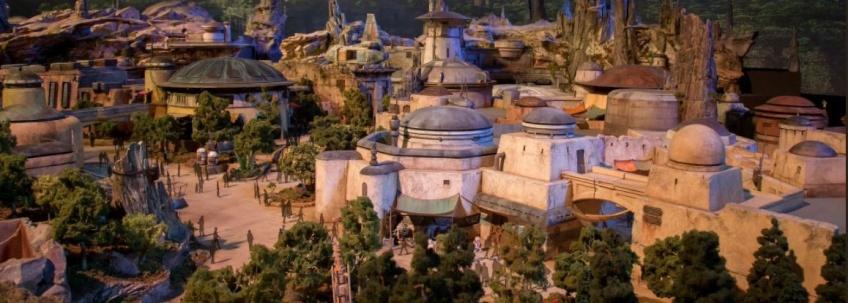 Les premières images des parcs Star Wars ont été dévoilées et ça fait vraiment rêver !