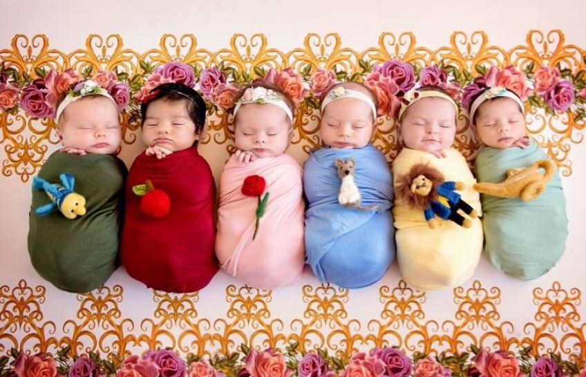 Alerte ! Ces bébés princesses Disney vont vous faire craquer !