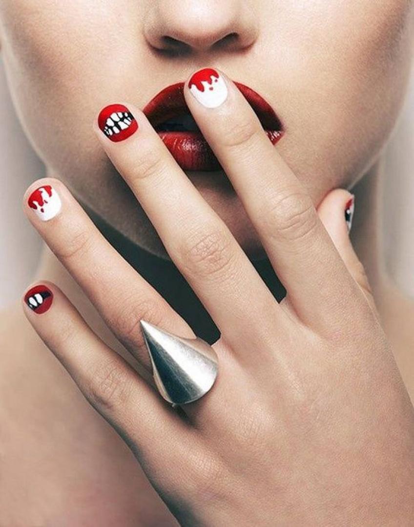 20 inspirations de nail-art hyper tendance spécial Halloween