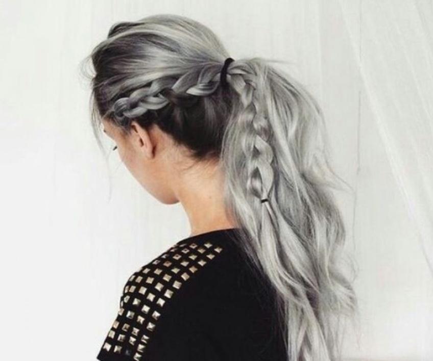 20 sublimes inspirations pour celles qui veulent se teindre les cheveux en gris