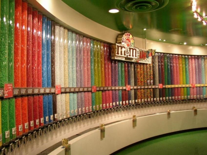 Alerte! Il existe maintenant un paradis M&M's à Paris!