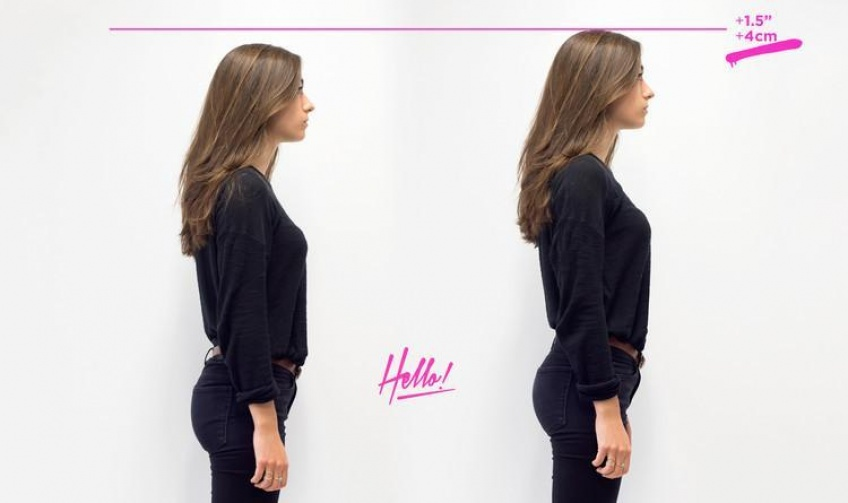 « Say hello to longer legs », la formule magique pour des jambes plus longues !
