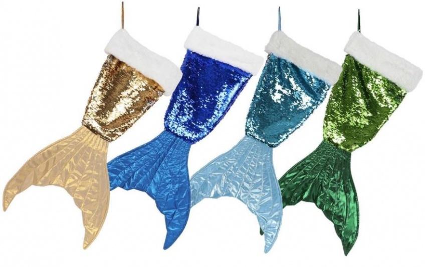 Alerte ! Vous allez craquer pour ce bas de Noël à thème sirène !