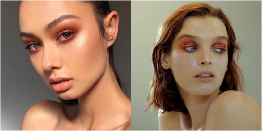 Le make up brique-cuivré, la grande tendance 2018
