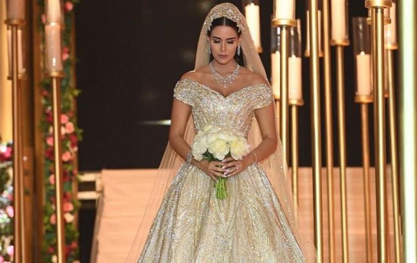 Vous allez craquer pour la robe de mariée de cette jeune Libanaise !