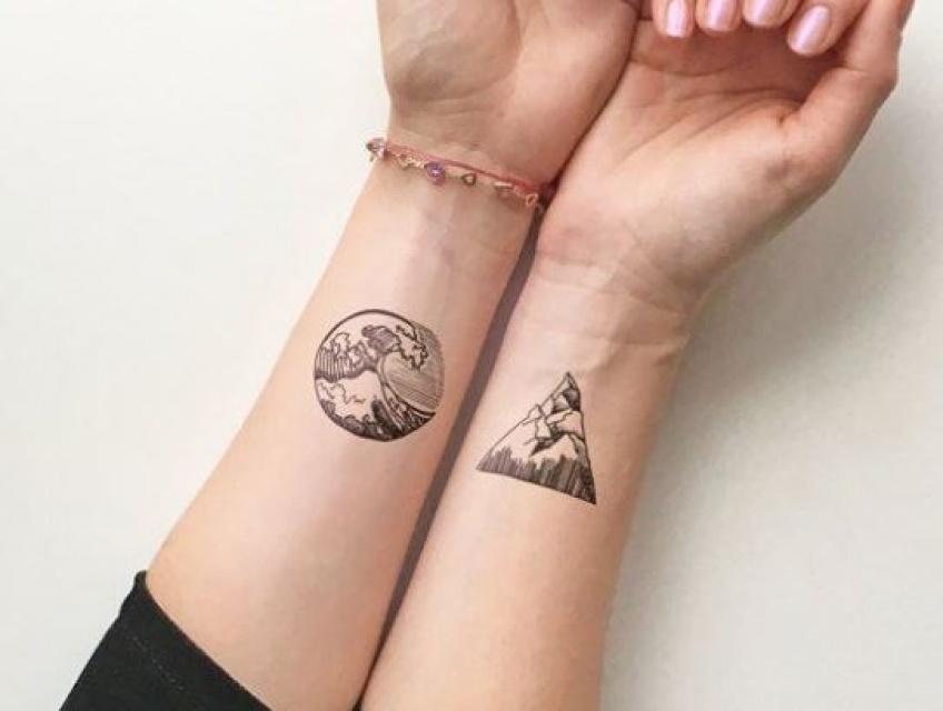 15 inspirations de tattoo canon à faire avec sa meilleure amie