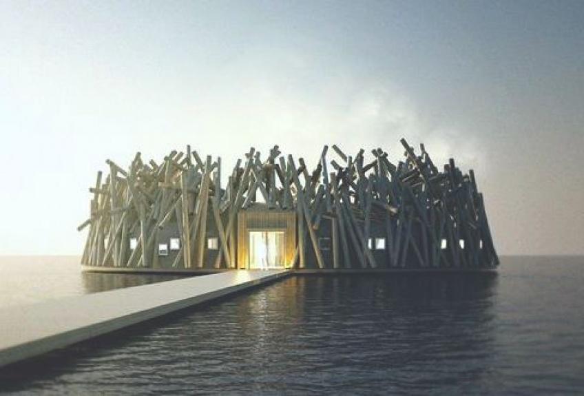 L'ouverture d'un hôtel flottant en Laponie, c'est pour bientôt !