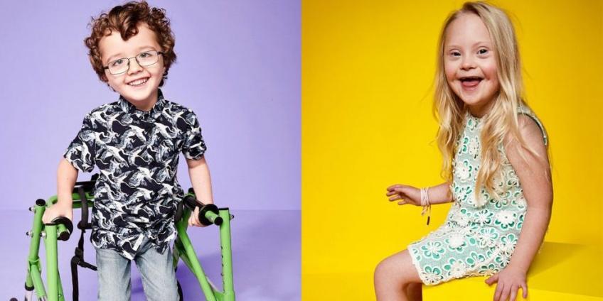 River Island lance une nouvelle campagne avec des enfants handicapés !