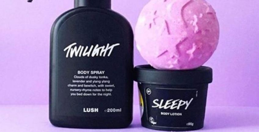 Lush décline sa célèbre lotion Sleepy qui fait dormir... en spray !