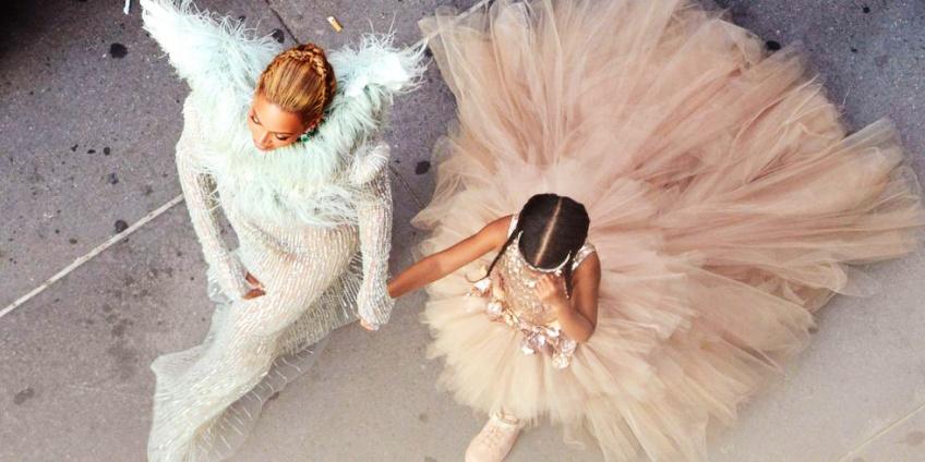 Beyoncé et Blue Ivy portaient le même look lors de leur dernière soirée !