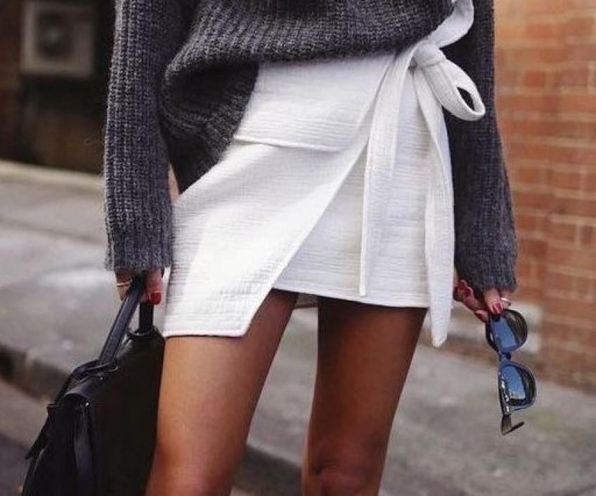 La jupe portefeuille pour un look décalé et super canon !