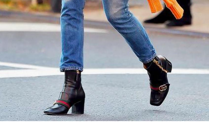 ALERTE : Découvrez les magnifiques chaussures de Dakota Johnson !