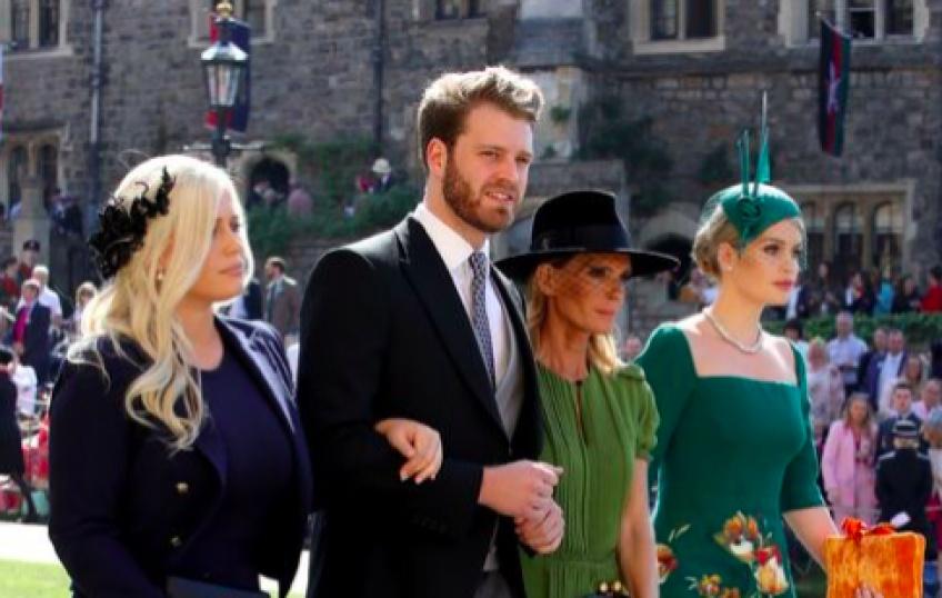 Louis Spencer, le neveu canon de Lady Diana repéré au Royal Wedding!