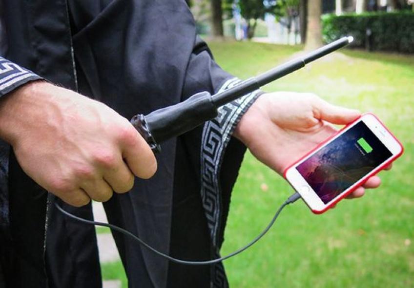 La baguette magique qui recharge votre téléphone