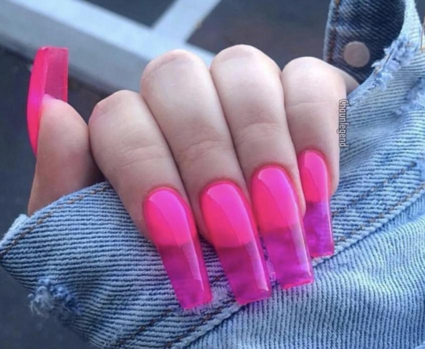 Les ''jelly nails'' ou la nouvelle tendance qui fait rage aux US
