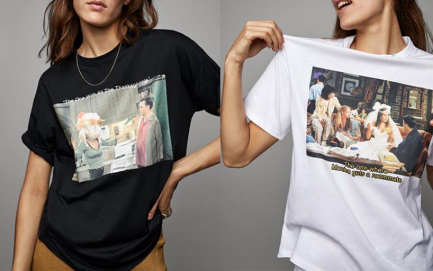 Zara lance une collection de T-shirts Friends et il nous les faut absolument !