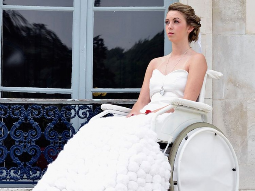 Enfin des robes de mariée pour les personnes handicapées