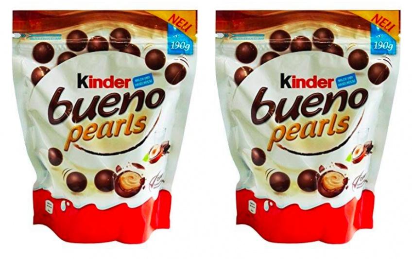 Kinder Bueno débarque enfin avec sa version Pearls !