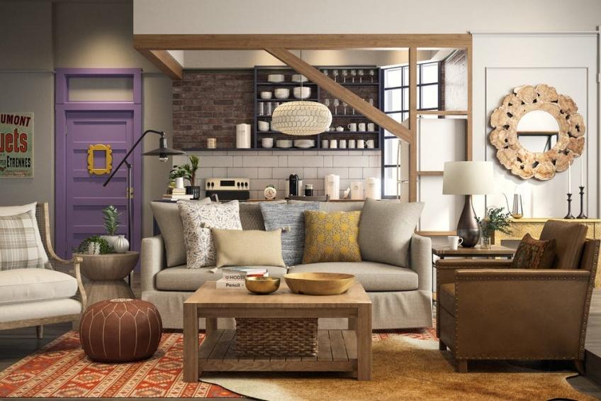 Voici à quoi ressemblerait l'appartement de Friends en 2018 !