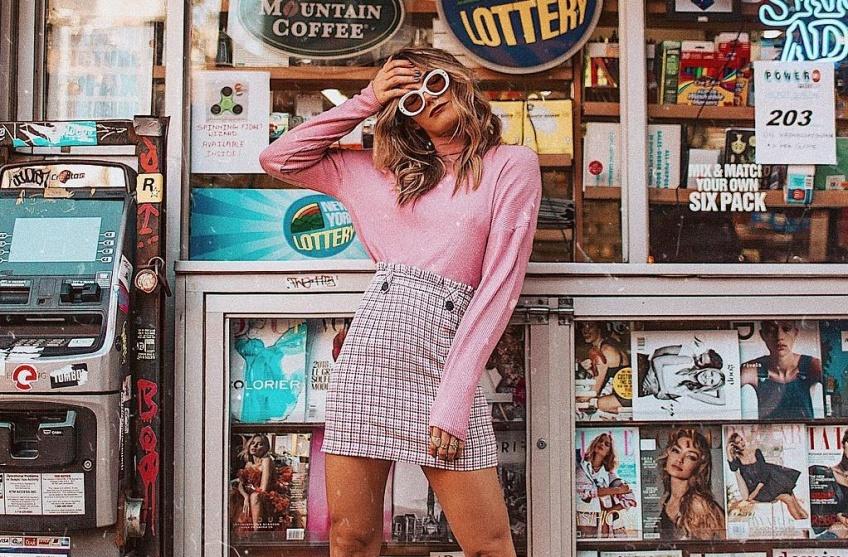 5 looks canon repérés sur Instagram à copier pour être tendance en rose !