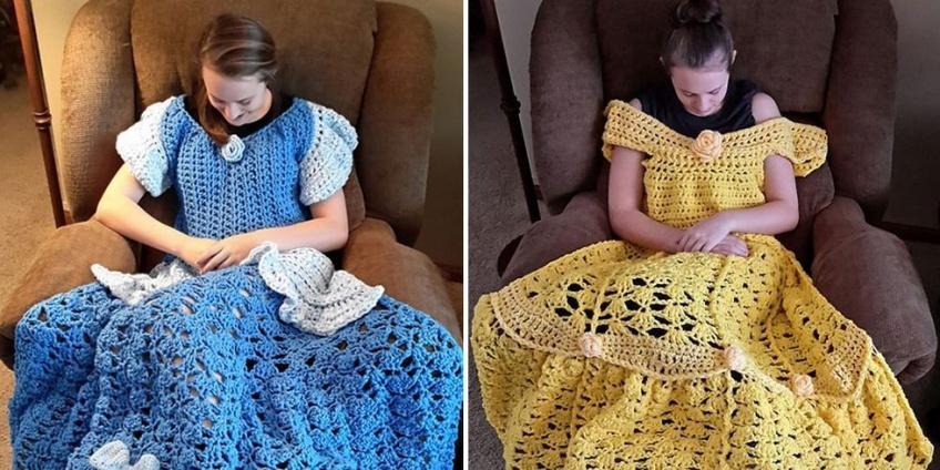 Il existe des couvertures en robes de princesses Disney pour vous tenir chaud tout l'automne !