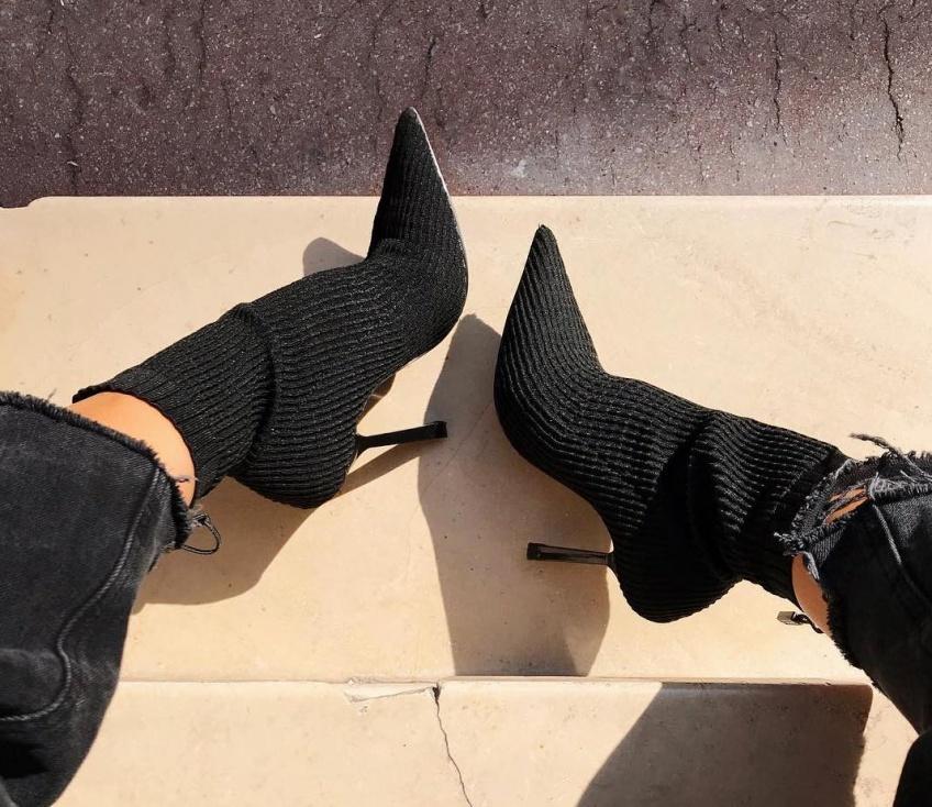 #Shoesday :  Les Bottines façon chaussettes parfaites pour entamer la saison avec style