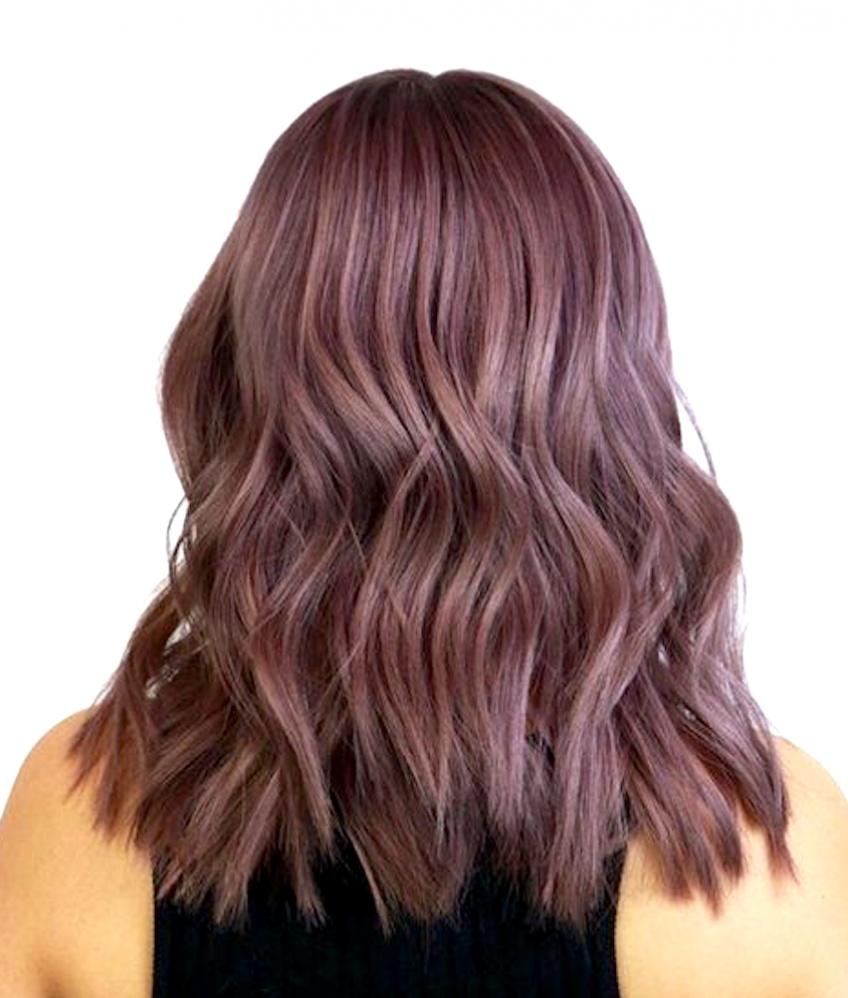 On craque totalement pour la coloration Metallic Mauve Hair !