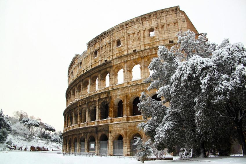 Rome sous les eaux après une énorme chute de grêle !