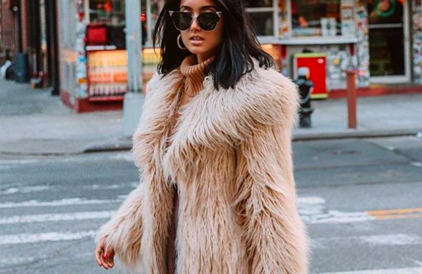 Des manteaux en fausse fourrure pour être au chaud tout l'hiver avec style