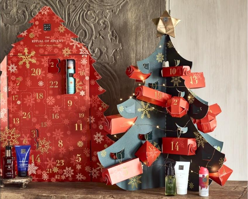 Les Calendriers de l'Avent Beauté pour patienter avant le réveillon de Noël !