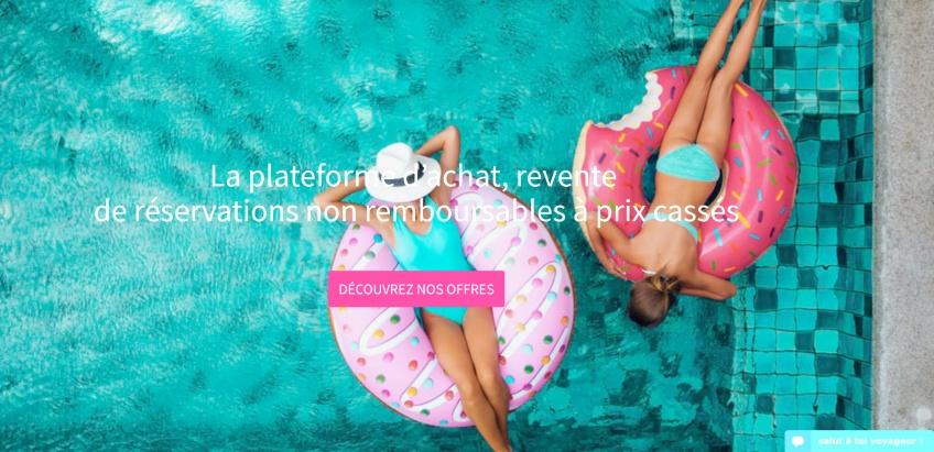 Dilotel, le concept qui permet de revendre vos réservations de vacances non remboursables !