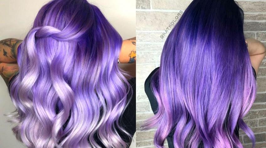 Metallic Lavender : la nouvelle tendance capillaire qui fera chavirer votre coeur
