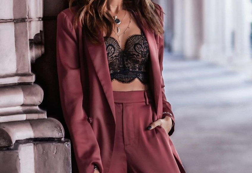 lingerie, hiver, sexy