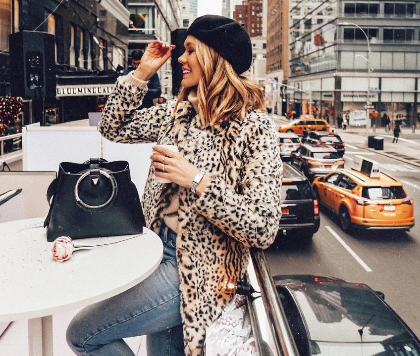 mode tendance hiver léopard 2019