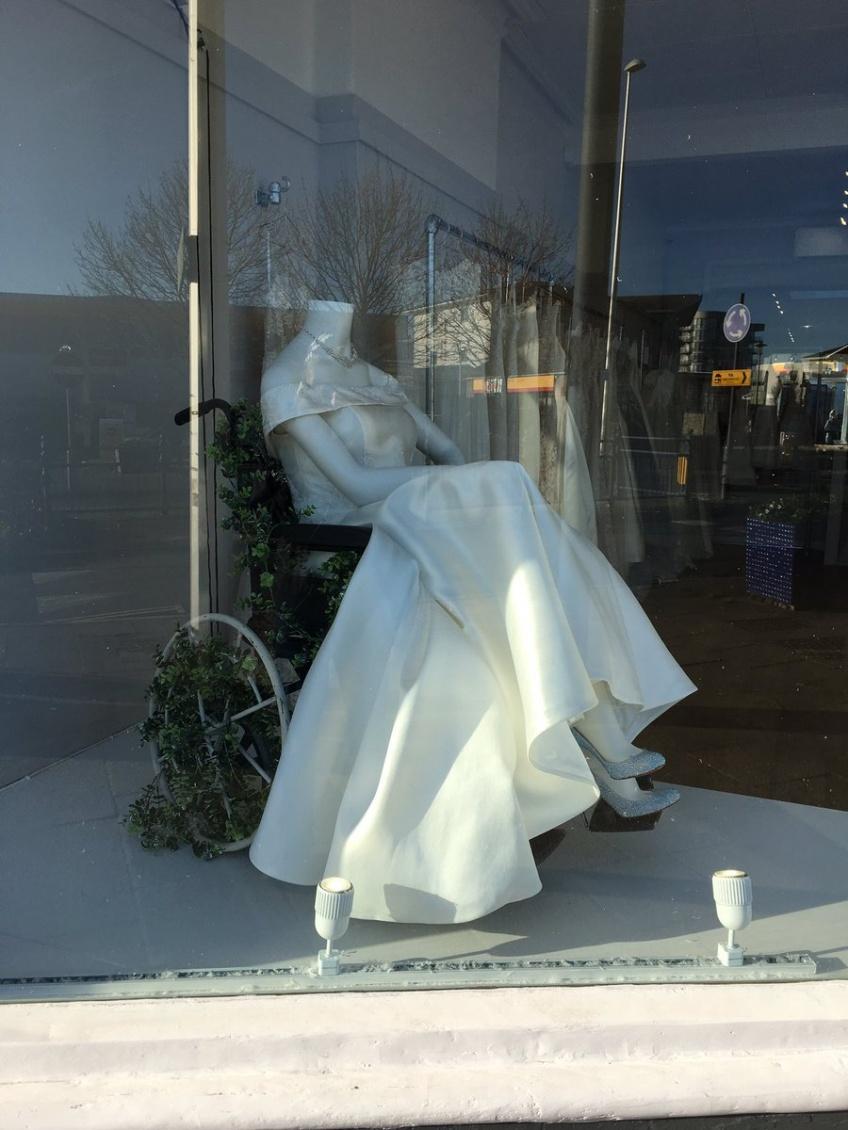 Royaume-Uni diversité boutique de mariage