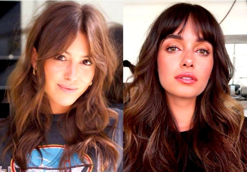Frange rideau : La coupe qui donnera du style à votre chevelure !