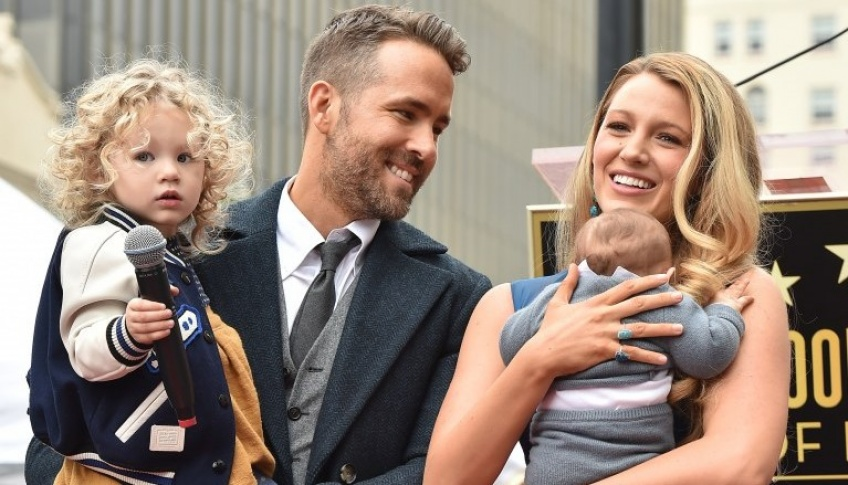 blake lively, ryan reynolds, couple parfait