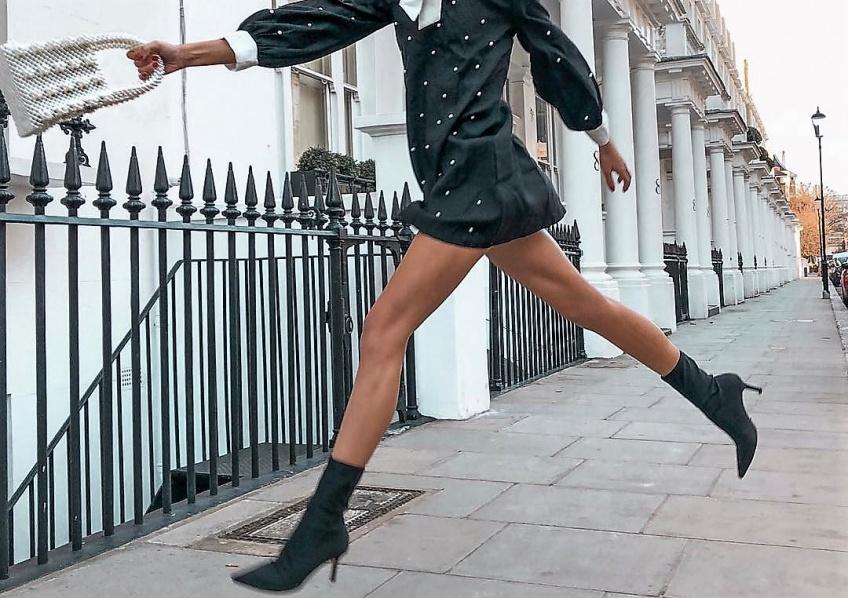 #Shoesday : Les bottines chaussettes qui vont ravir toutes les adeptes des bottines en hiver