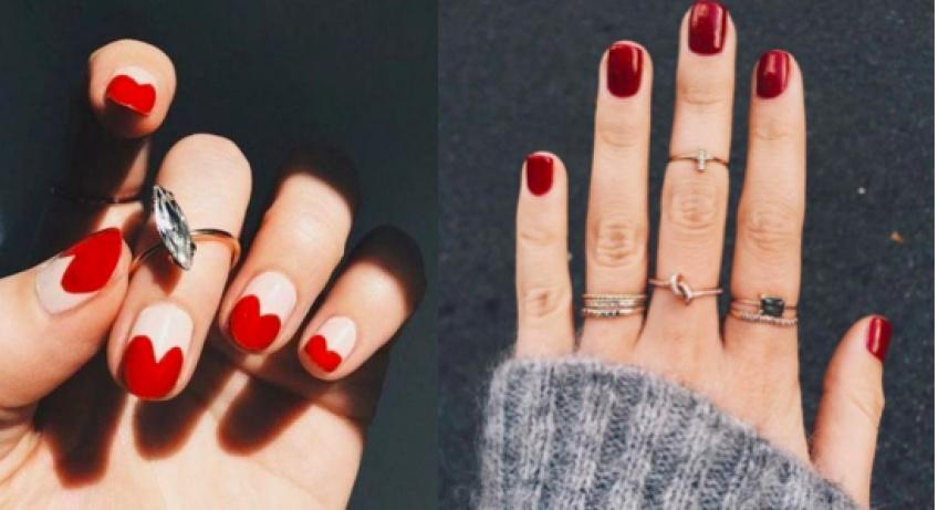 Les plus jolies inspi' de nail-art pour la Saint-Valentin !